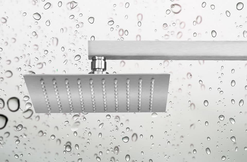 artículo sobre las ventajas de las duchas tipo lluvia