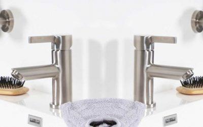 4 trucos para limpiar el acero inoxidable de tus griferias