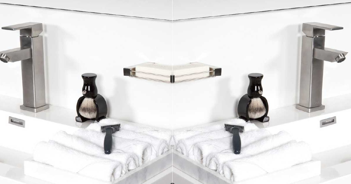 artículo sobre por qué usar acero inoxidable en el baño