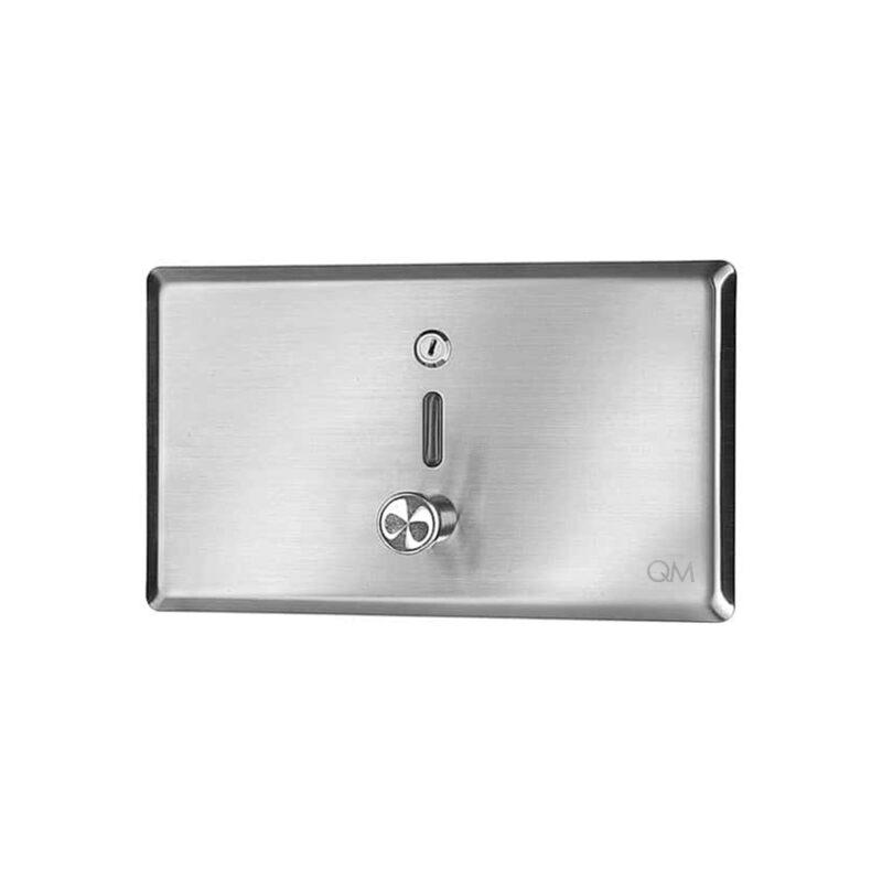 Imagen de dispensador de jabón líquido para empotrar ria QM RIA by Quality Metal